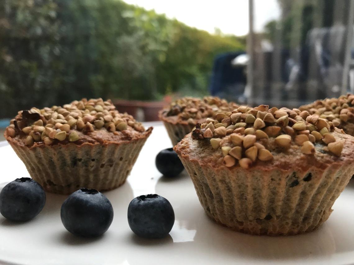 Green Oatmeal Muffins