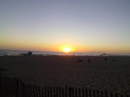 sunset, Hermosa Beach, CA