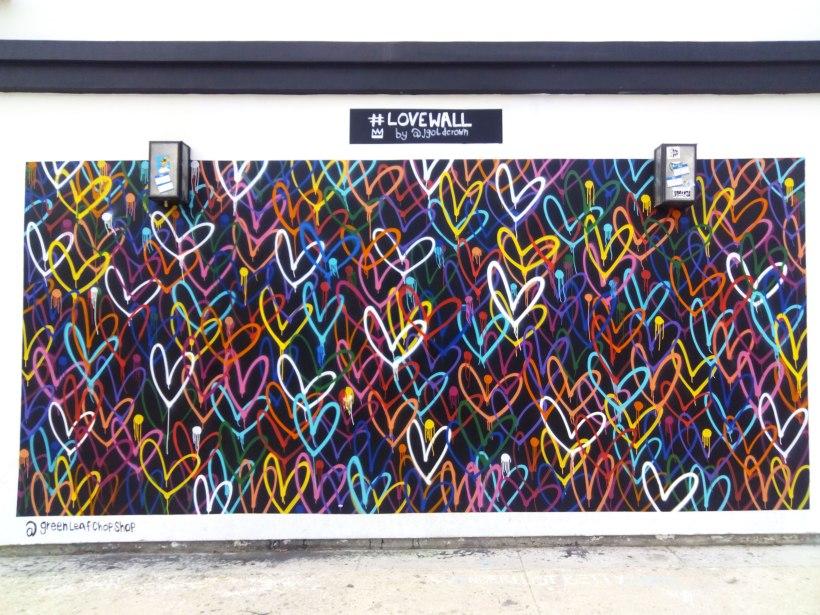 love wall, Venice Beach, LA, CA