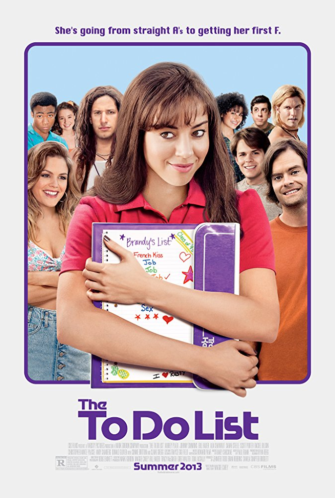 """pic: imdb.com,  """"The To Do List"""""""